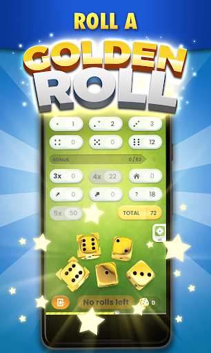 Golden Roll: The Yatzy Dice Game screenshots 2