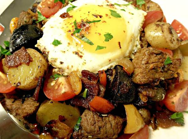 Feiny's Everything Steak & Bacon Hash Recipe