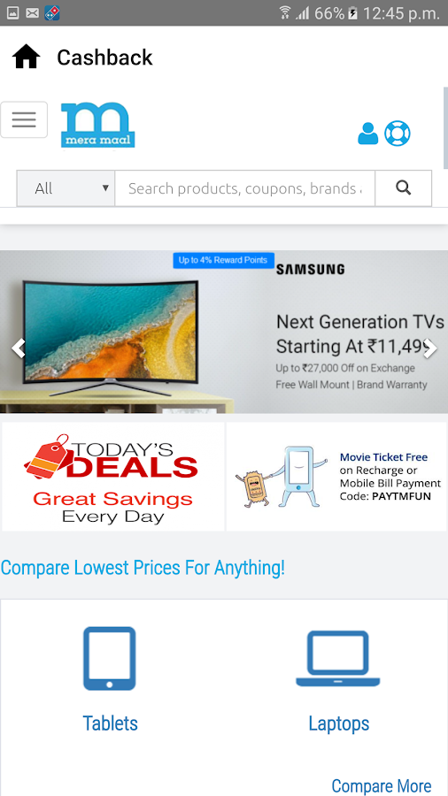 Buy & Sell Stuff. Compare Price & Get Cash Back.- screenshot