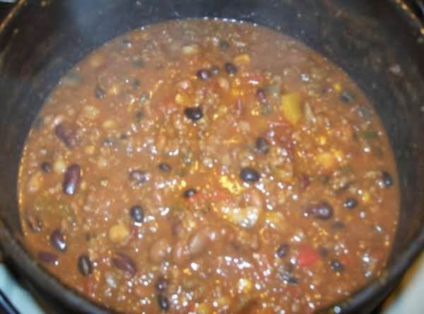 Loaded Mushroom Salsa Chili Recipe