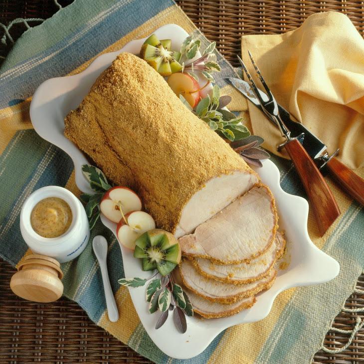 Mustard-Crusted Pork Roast