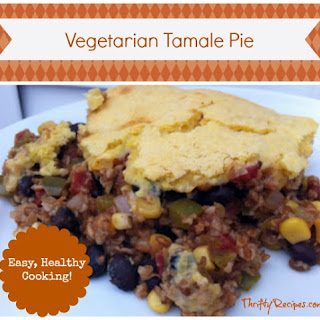 Vegetarian Tamale Pie Recipe