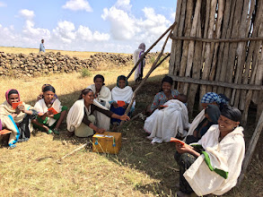 Photo: This photo shows a savings group in Simada, Ethiopia, taken during a recent operational research study conducted by Food for the Hungry.
