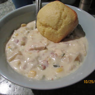 Easiest Clam Chowder for a crowd EVER.
