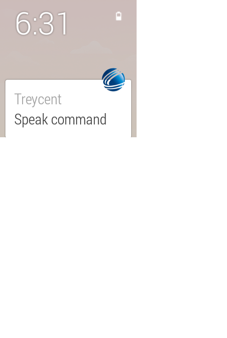 Custom Voice Commands- screenshot