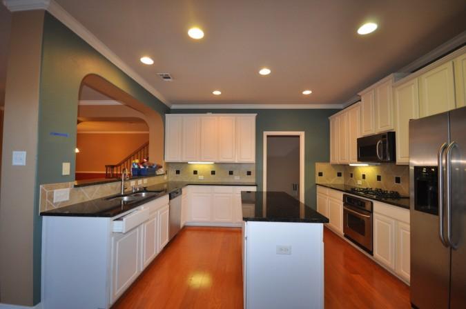 Fresh Coat Painters kitchen before