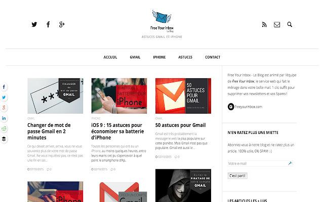 Free Your Inbox | Le Blog RSS