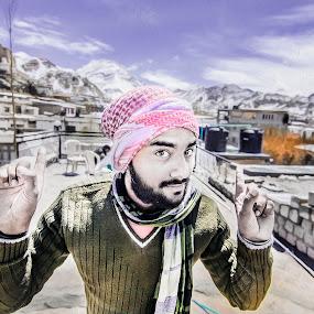 SELF | LADAKH by Inderjit Singh - Landscapes Mountains & Hills ( leh, inderanim, ladakh, landscapes, hues )