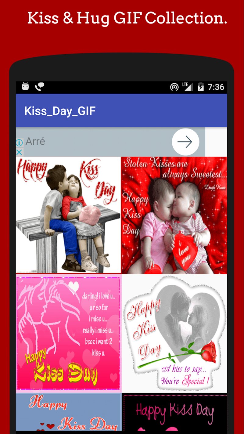 Скриншот Kiss GIF 😗 Collection