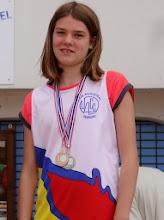 Photo: Jade : Vice Championne de Gironde 1000 m