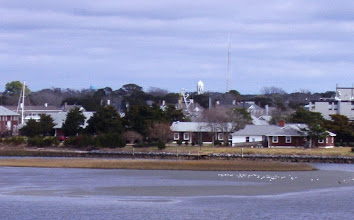 Photo: Zoom of the west side of Pivers Island