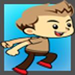 Happy Boy Jump Icon