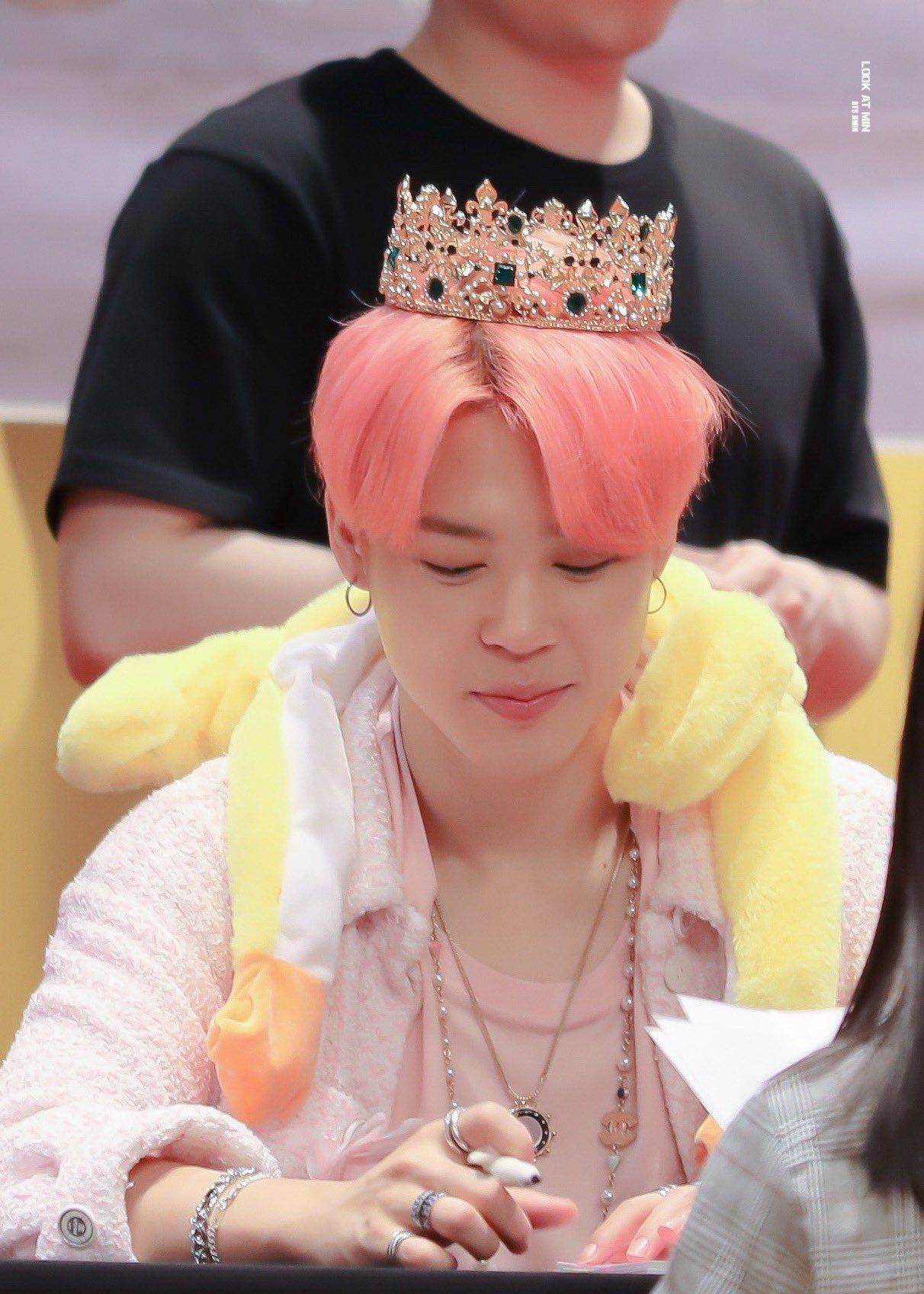 Bts S Jimin Made This Lucky Army Feel Like A Queen