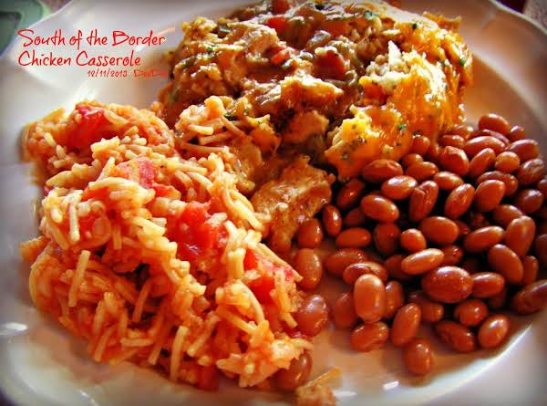 South Of The Border Chicken Casserole Recipe