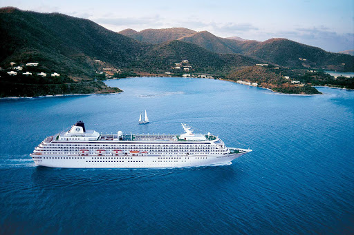 crystal-symphony-in-st-thomas.jpg - Visit St. Thomas in the U.S. Virgin Islands in style aboard the luxury ship Crystal Symphony.