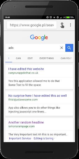Inspect and Edit HTML Live Pro screenshot 1