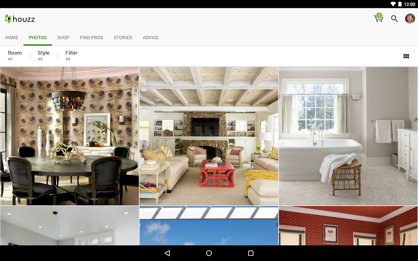 Houzz interior design ideas android apps on google play - Cuisiniere grise ...
