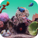 Seawater Aquarium Video LWP icon