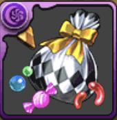 ハロウィンのお菓子袋【銀】