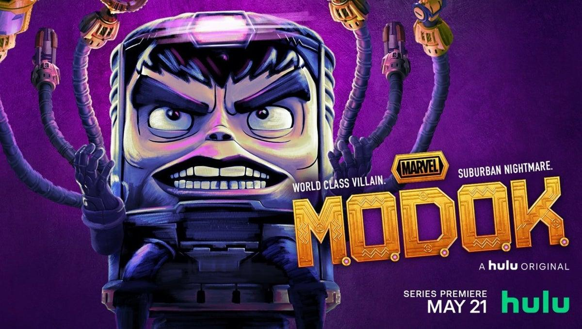 Marvel Releases First MODOK Posters