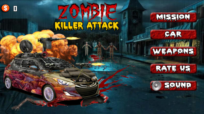 Zombie Killer Attack - screenshot