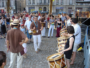 "Photo: 14 juillet 2005 : ""Nantes invite Recife""- ateliers de maracatu"