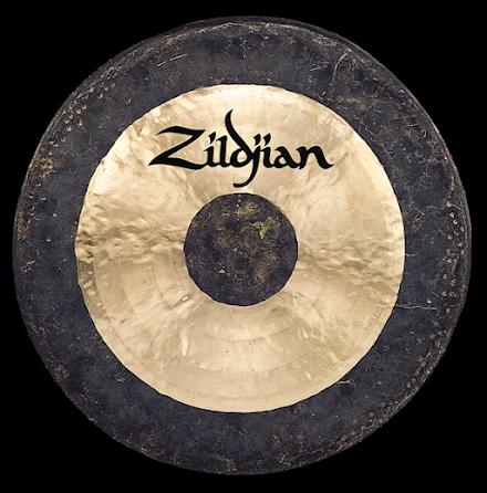"40"" Zildjian Traditional Hand Hammered Gong"