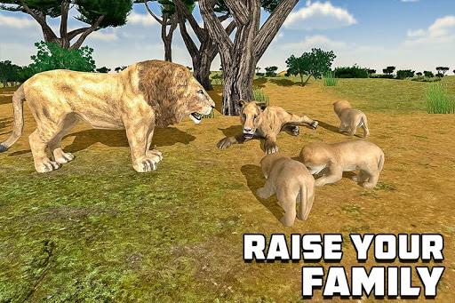 furious lion family sim screenshot 3