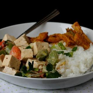 Easy Thai Green Curry {Vegan & Gluten-Free}