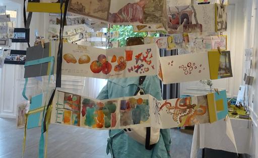 expo carnet de voyage aquarelle _ Jeanne PAPA_naples sicile rome italie 01