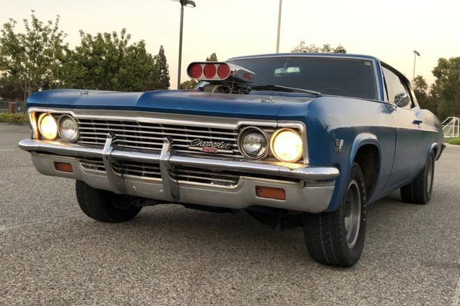 1966 Chevy Caprice Classic Hire CA