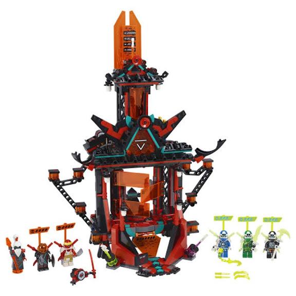 Contenido de Lego® 71712 Templo Imperial de la Locura