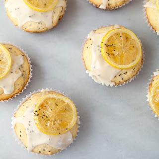 Lemon and Chia Seed Yogurt Cakes