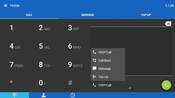 Screenshot of WebCallDirect cheap calls
