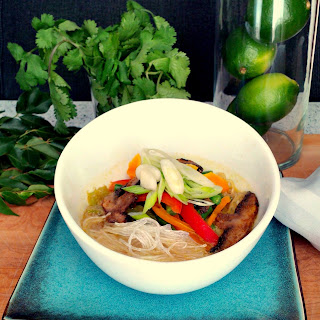 Thai Inspired Coconut Vegetable Soup