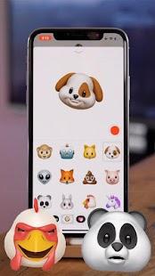 Animoji iPhone X - náhled