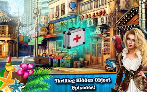 Hidden Object Games 400 Levels : Agent Hannah Screenshot