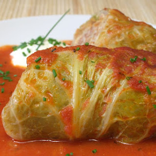 Serbian Vegetarian Stuffed Cabbage Recipe - Posna Sarma Recipe