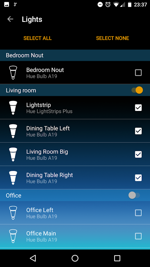 Hue Fireworks for Philips Hue- screenshot