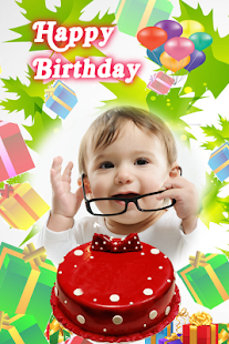 Birthday Photo Frame Happy Birthday Frames - náhled