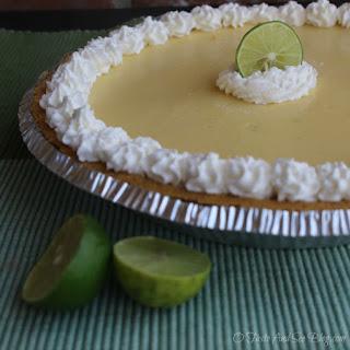 Key Lime Buttermilk Icebox Pie