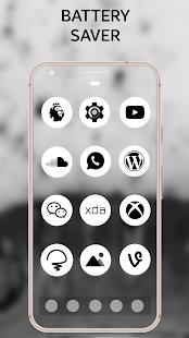 Pixel Android Oreo 8 White AMOLED UX - Icon Pack - náhled