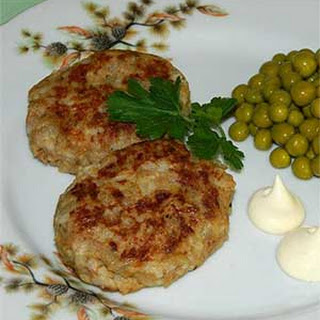 Russian Rice Fish Cakes