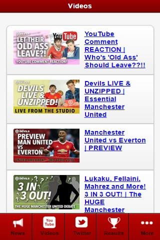 Man Utd News- screenshot