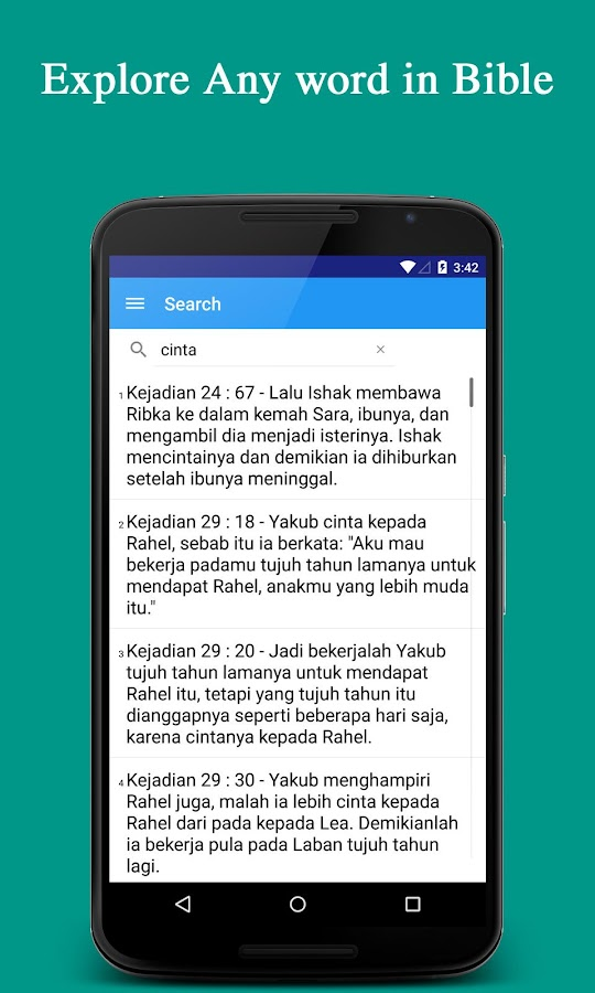 Alkitab ( Indonesian bible )- screenshot