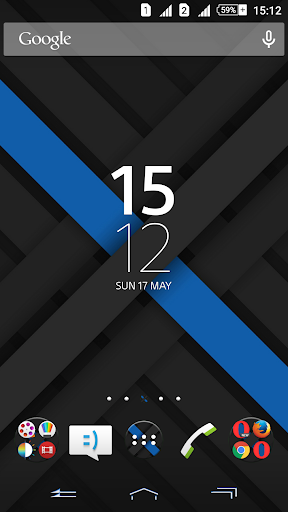 Xperien Theme X-Blue 2.0