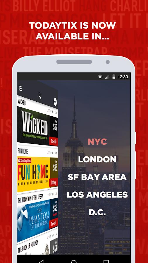 TodayTix – NY|DC|LA|SF Theater- screenshot