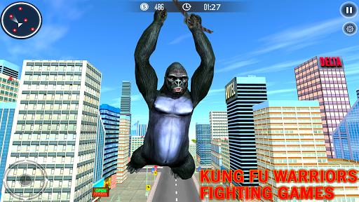 Code Triche Gorilla City Simulator - Rope Hero Gorilla Game mod apk screenshots 4