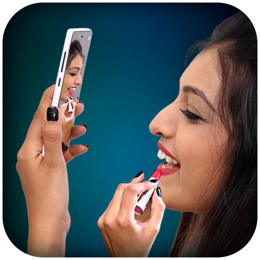 Makeup with Instant Mirror