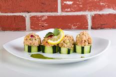 Salmon Salad Shooters
